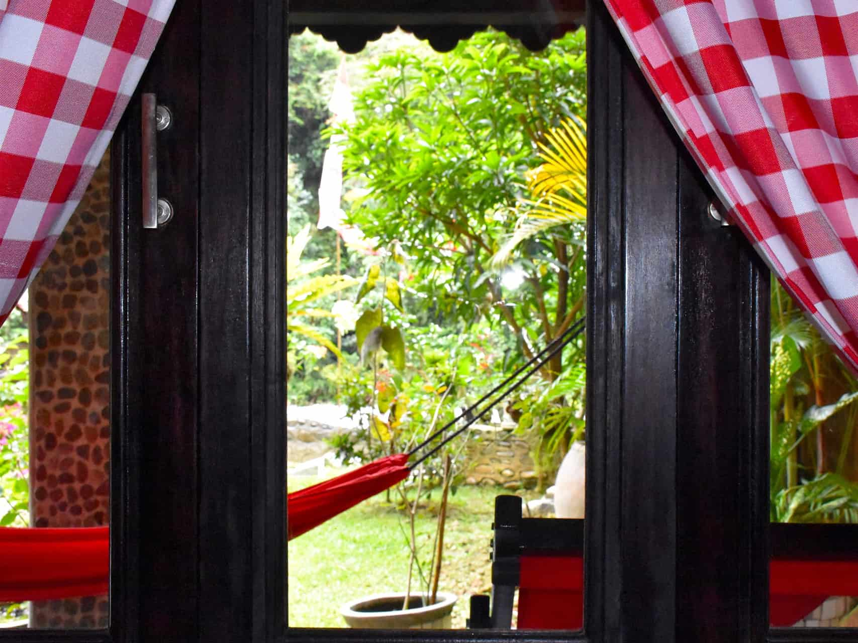 JUNGLE VIEW ROOM AT ECOTRAVEL COTTAGES BUKIT LAWANG - SUMATRA ECOTRAVEL