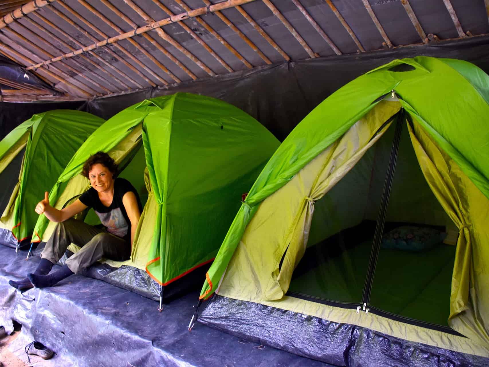 ECOTRAVEL'S JUNGLE CAMP - BUKIT LAWANG JUNGLE TREKKING BY SUMATRA ECOTRAVEL