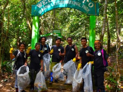 Keep The Jungle Clean - Sumatra Eco Travel Bukit Lawang
