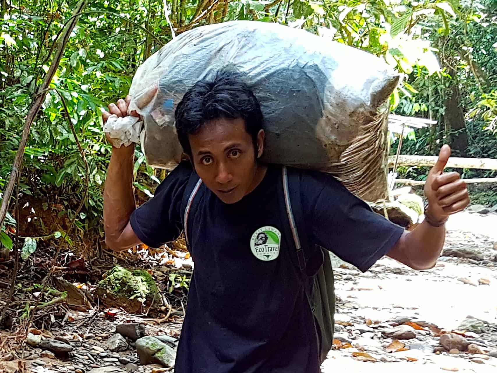 Keep The Jungle Clean - Sumatra Eco Travel Bukit Lawang