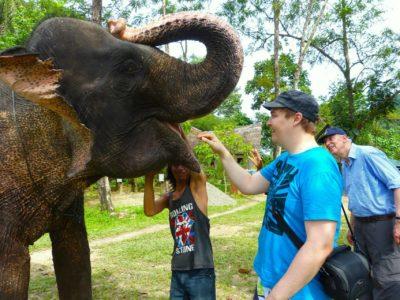 TANGKAHAN ELEPHANTS - SUMATRA ECOTRAVEL
