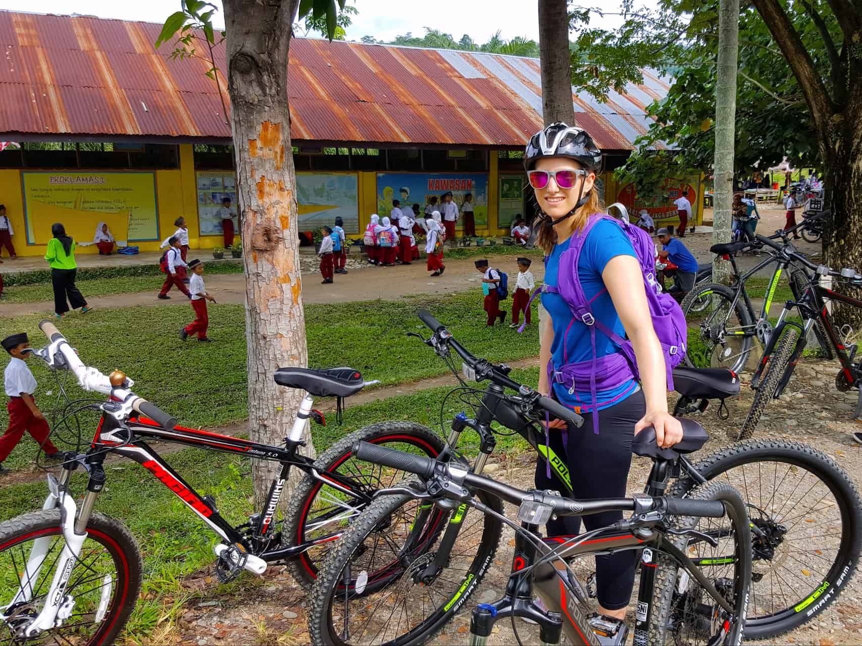 MOUNTAIN BIKE TOUR - VILLAGE LIFE - SUMATRA ECOTRAVEL BUKIT LAWANG