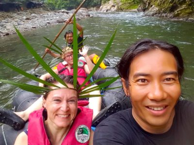 TUBE-RAFTING FUN - JUNGLE TREKKING - SUMATRA ECOTRAVEL BUKIT LAWANG