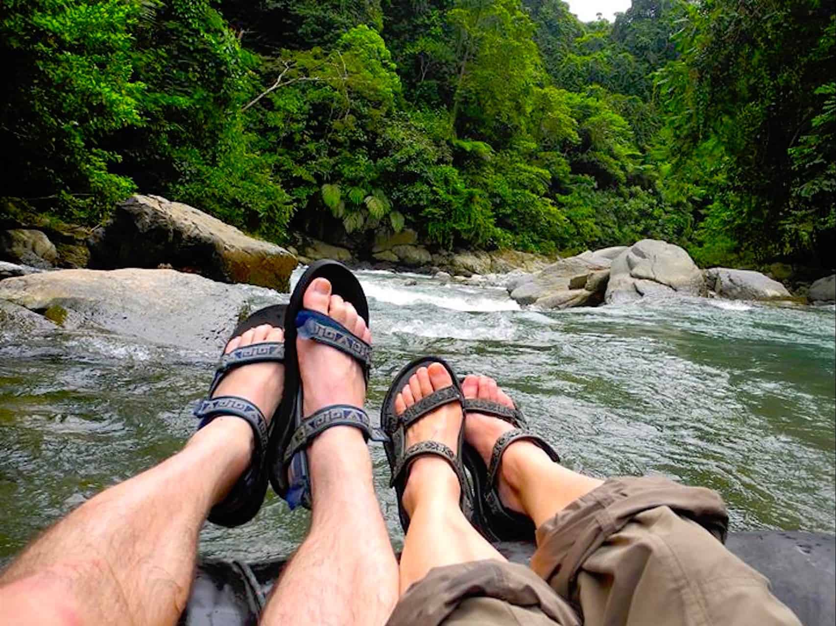 TUBE RAFTING - BUKIT LAWANG JUNGLE TREKKING - 1-DAY TREK - JUNGLE VIEW HIKE - SUMATRA ECOTRAVEL