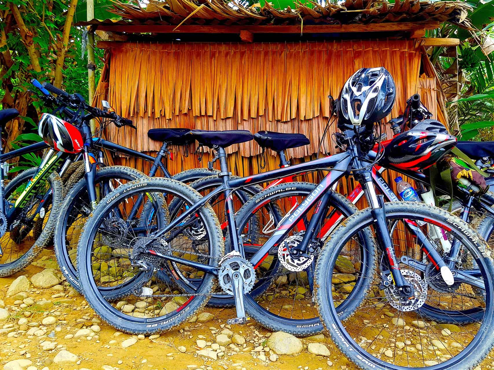MOUNTAIN BIKE TRIP - VILLAGE LIFE - SUMATRA ECOTRAVEL BUKIT LAWANG