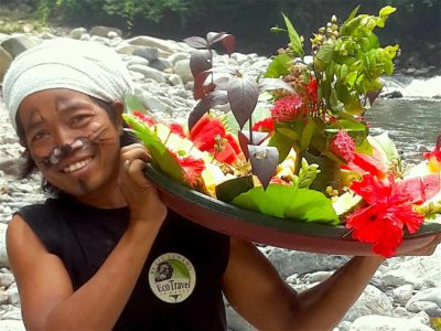 "FRUIT SALAT ""JUNGLE STYLE"" - JUNGLE TREKKING - BUKIT LAWANG - SUMATRA ECOTRAVEL"