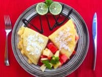 Breakfast at EcoTravel Cottages Bukit Lawang