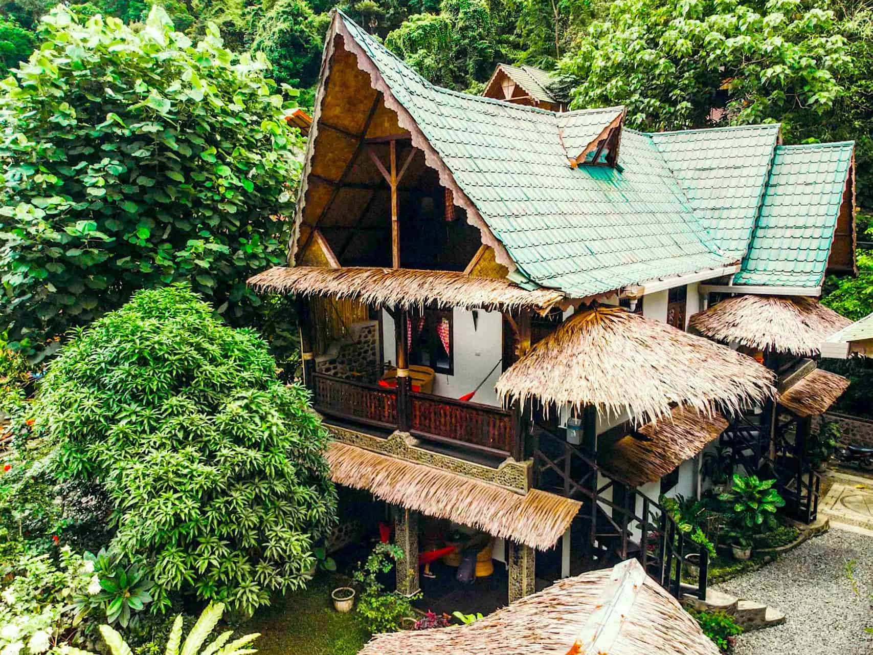 EcoTravel Cottages Bukit Lawang, Sumatra Boutique Hotel - Jungle Lodge