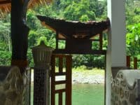 Gate door to the Bohorok River - Hangout@EcoTravel Bukit Lawang