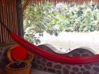 Jungle View Room (triple) - Hangout@EcoTravel Bukit Lawang