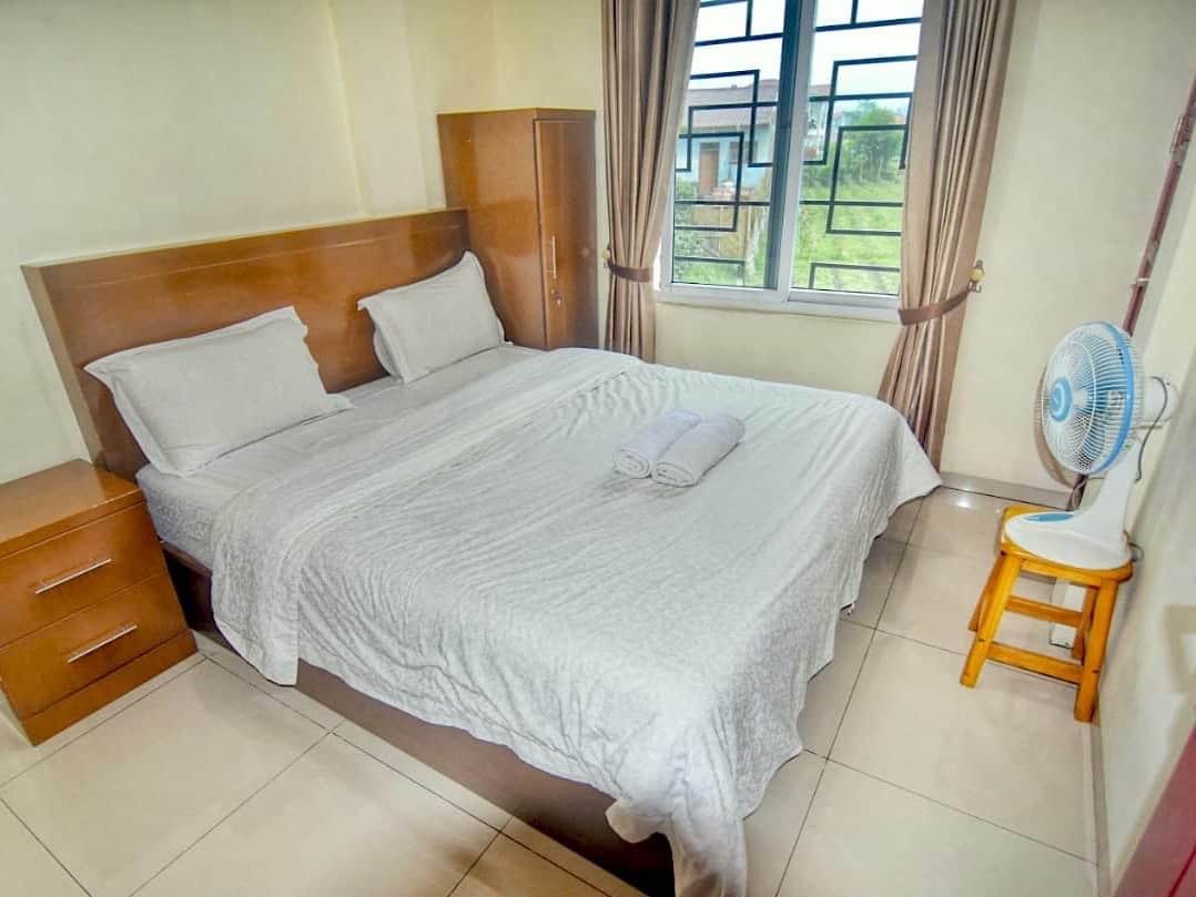 Room with view at Nachelle Homestay - Berastagi - Sumatra Highlights by Sumatra EcoTravel