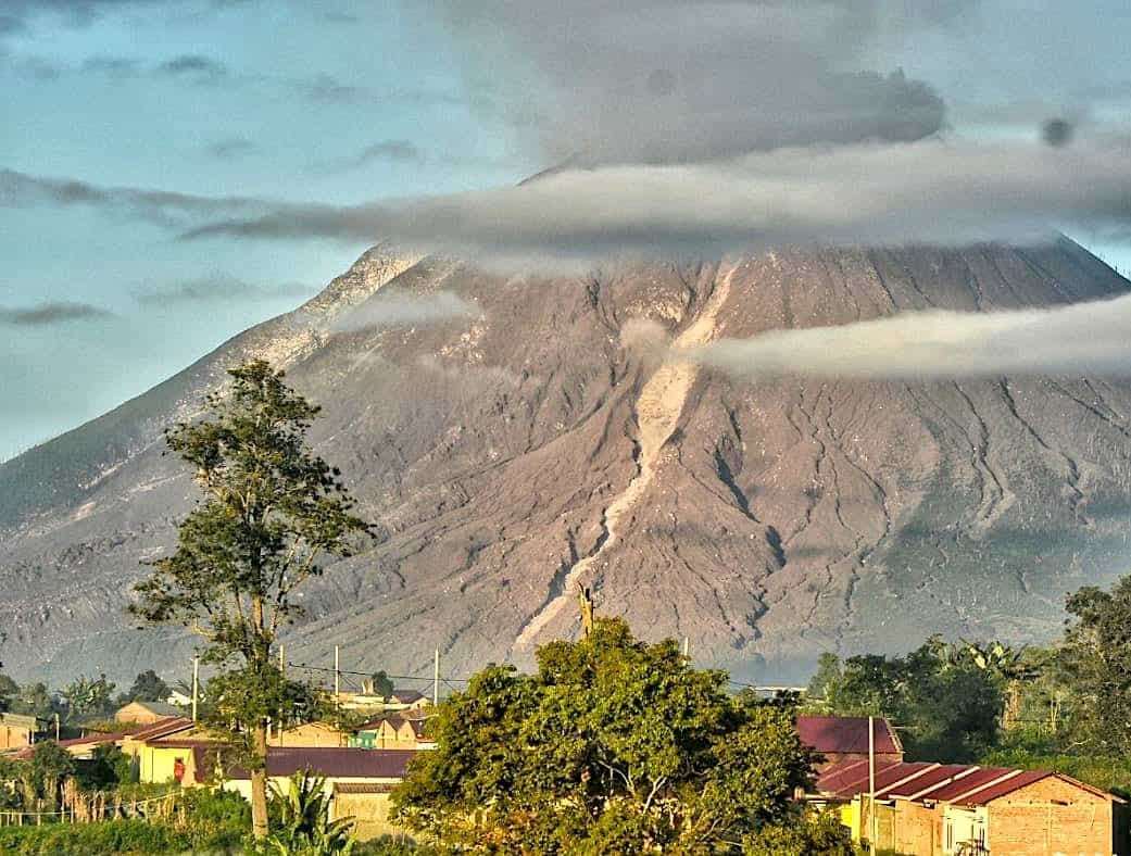 Vulcano view in Berastagi - Sumatra Highlights by Sumatra EcoTravel